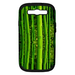 Bamboo Samsung Galaxy S Iii Hardshell Case (pc+silicone) by Siebenhuehner
