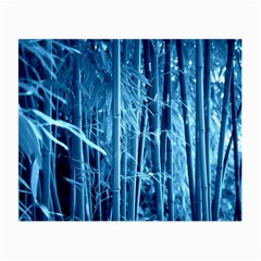 Blue Bamboo Glasses Cloth (small, Two Sided) by Siebenhuehner
