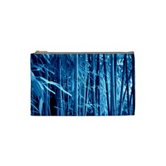 Blue Bamboo Cosmetic Bag (small) by Siebenhuehner