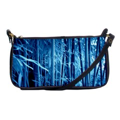 Blue Bamboo Evening Bag by Siebenhuehner