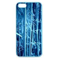 Blue Bamboo Apple Seamless Iphone 5 Case (color) by Siebenhuehner