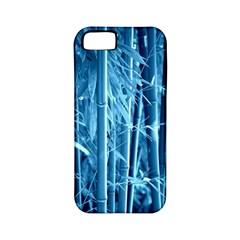 Blue Bamboo Apple Iphone 5 Classic Hardshell Case (pc+silicone) by Siebenhuehner