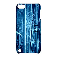 Blue Bamboo Apple Ipod Touch 5 Hardshell Case With Stand by Siebenhuehner