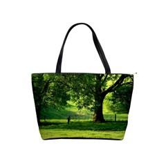 Trees Large Shoulder Bag by Siebenhuehner