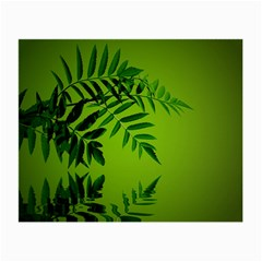 Leaf Glasses Cloth (small, Two Sided) by Siebenhuehner