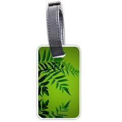 Leaf Luggage Tag (two Sides) by Siebenhuehner