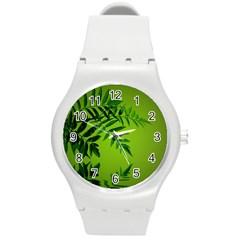 Leaf Plastic Sport Watch (medium) by Siebenhuehner