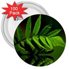 Leaf 3  Button (100 Pack) by Siebenhuehner