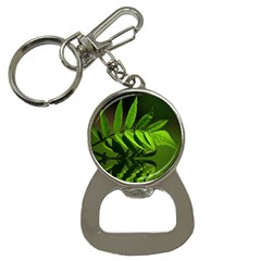 Leaf Bottle Opener Key Chain