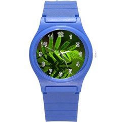 Leaf Plastic Sport Watch (small) by Siebenhuehner