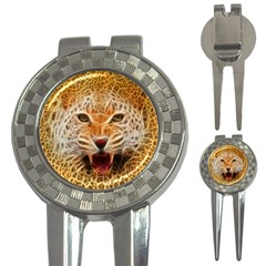 Jaguar Electricfied Golf Pitchfork & Ball Marker by masquerades