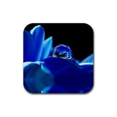 Waterdrop Drink Coasters 4 Pack (square) by Siebenhuehner