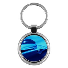 Waterdrops Key Chain (round) by Siebenhuehner