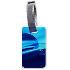 Waterdrops Luggage Tag (two Sides) by Siebenhuehner
