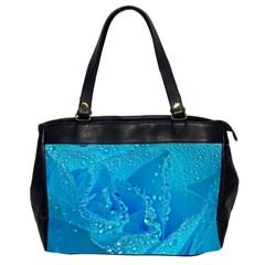 Blue Rose Oversize Office Handbag (two Sides) by Siebenhuehner