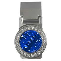 Waterdrops Money Clip (cz)
