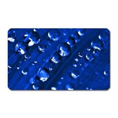 Waterdrops Magnet (rectangular) by Siebenhuehner