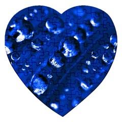 Waterdrops Jigsaw Puzzle (heart) by Siebenhuehner