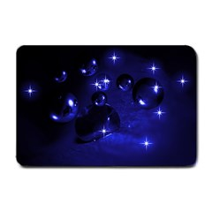 Blue Dreams Small Door Mat by Siebenhuehner