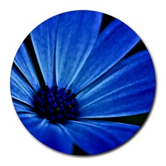 Flower 8  Mouse Pad (round) by Siebenhuehner