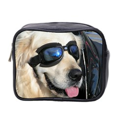 Cool Dog  Mini Travel Toiletry Bag (two Sides) by Siebenhuehner