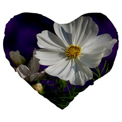 Cosmea   19  Premium Heart Shape Cushion by Siebenhuehner