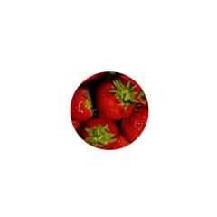Strawberry  1  Mini Button by Siebenhuehner