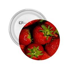 Strawberry  2 25  Button by Siebenhuehner