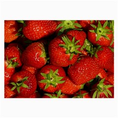 Strawberry  Glasses Cloth (large) by Siebenhuehner