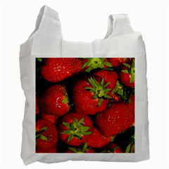 Strawberry  Recycle Bag (One Side) by Siebenhuehner