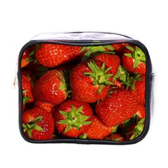 Strawberry  Mini Travel Toiletry Bag (one Side) by Siebenhuehner