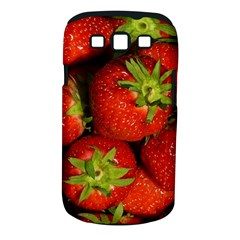 Strawberry  Samsung Galaxy S Iii Classic Hardshell Case (pc+silicone) by Siebenhuehner