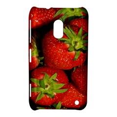 Strawberry  Nokia Lumia 620 Hardshell Case by Siebenhuehner