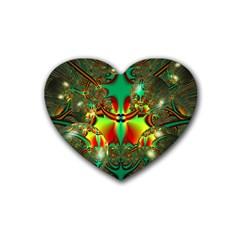 Magic Balls Drink Coasters (heart) by Siebenhuehner
