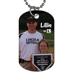 lillie - Dog Tag (Two Sides)