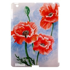 Poppies Apple Ipad 3/4 Hardshell Case (compatible With Smart Cover) by ArtByThree