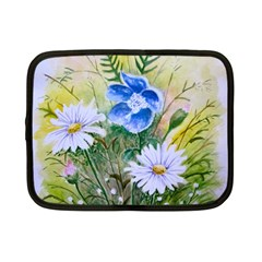 Meadow Flowers Netbook Case (small) by ArtByThree