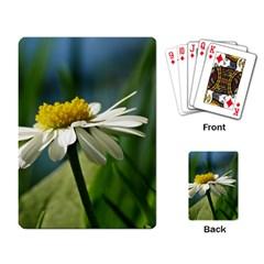 Daisy Playing Cards Single Design by Siebenhuehner