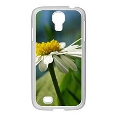 Daisy Samsung Galaxy S4 I9500/ I9505 Case (white) by Siebenhuehner