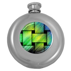 Modern Art Hip Flask (round) by Siebenhuehner