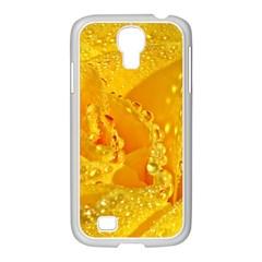 Waterdrops Samsung Galaxy S4 I9500/ I9505 Case (white) by Siebenhuehner