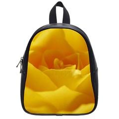 Yellow Rose School Bag (small) by Siebenhuehner