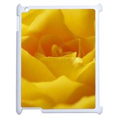 Yellow Rose Apple Ipad 2 Case (white) by Siebenhuehner