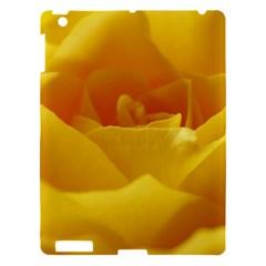 Yellow Rose Apple Ipad 3/4 Hardshell Case by Siebenhuehner