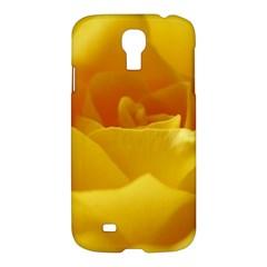 Yellow Rose Samsung Galaxy S4 I9500/i9505 Hardshell Case by Siebenhuehner
