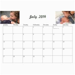 M&z By Nadine   Wall Calendar 11  X 8 5  (12 Months)   Eoyhlagfejcp   Www Artscow Com Jul 2014