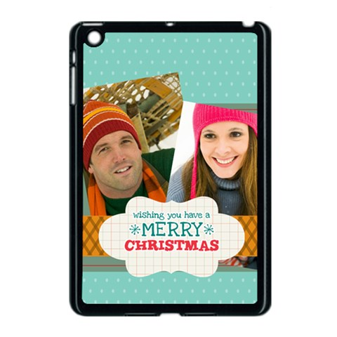 Merry Christmas By Merry Christmas   Apple Ipad Mini Case (black)   Ncdq7t7e6710   Www Artscow Com Front