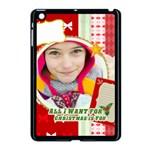 merry christmas - Apple iPad Mini Case (Black)