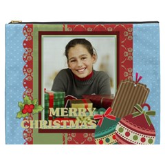 Merry Christmas By Merry Christmas   Cosmetic Bag (xxxl)   7a1xnpdhltrv   Www Artscow Com Front