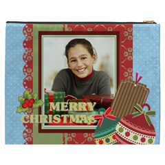 Merry Christmas By Merry Christmas   Cosmetic Bag (xxxl)   7a1xnpdhltrv   Www Artscow Com Back